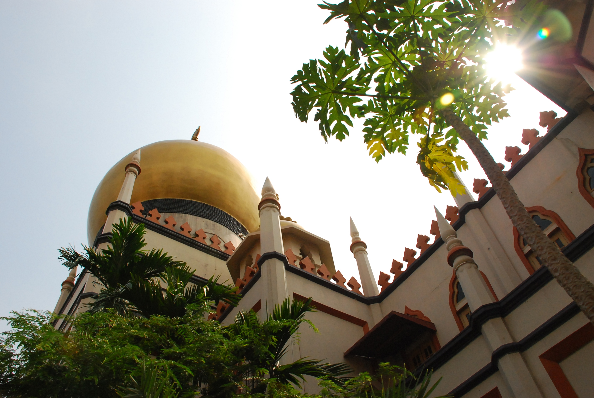 Sultan Mosque in Kampong Glam. Photo courtesy: Singapore Tourism Board