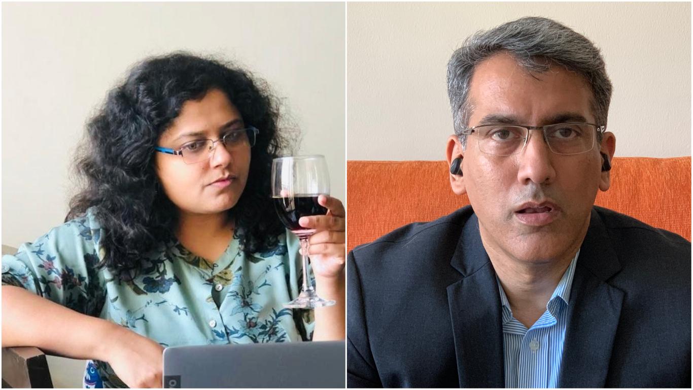 Rayana Pandey and Rahul Phondke star as siblings in Cheers.