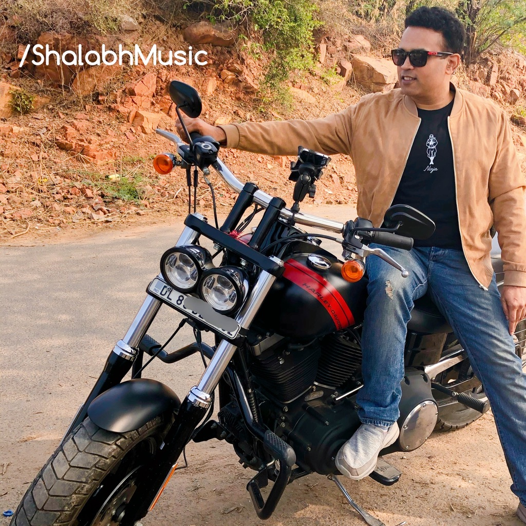 Shalabh seriously began writing songs 3 years ago and has released 7 original studio produced Hindi tracks. Photo courtesy: Shalabh
