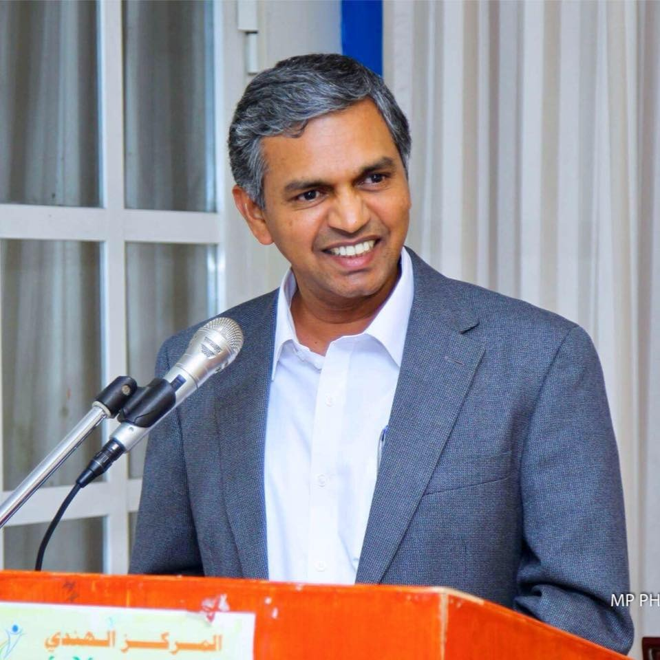 HE ​Periasamy Kumaran will replace the current High Commissioner of India to Singapore, HE Jawed Ashraf. Photo courtesy: H.E. Periasamy Kumaran Facebook Page
