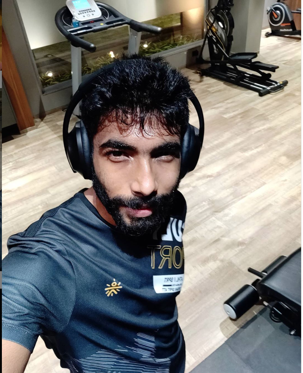 Photo Courtesy : Jasprit Bumrah/Instagram