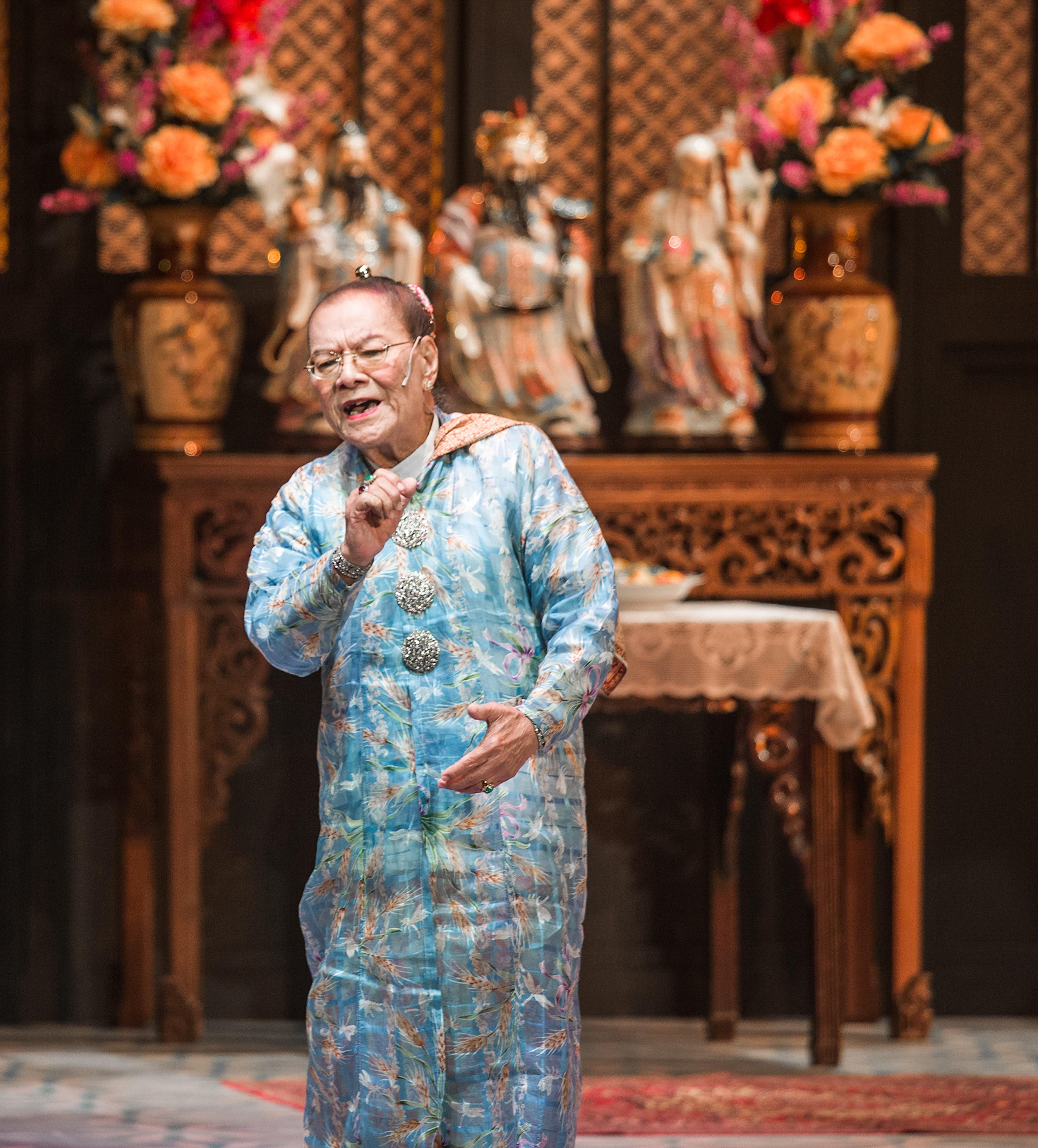 G.T. Lye  for Wayang peranakan and dondang sayang. Photo Courtesy: GT Lye website