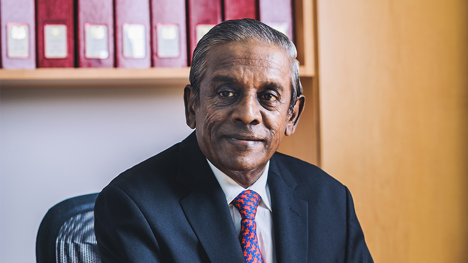 Singapore's former Deputy Prime Minister Professor S Jayakumar has been appointed NUS Pro-Chancellor. Photo courtesy: NUS