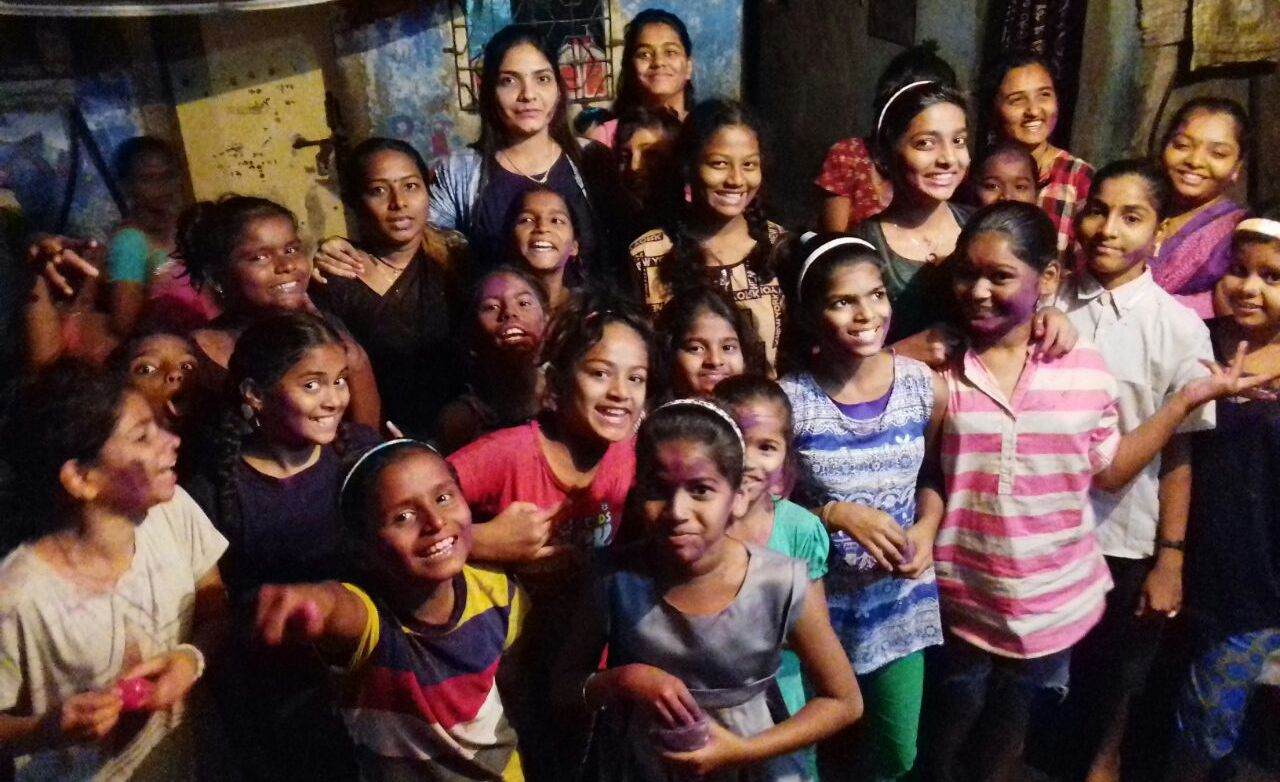 To help deal with the suspension of classes due to the coronavirus, Aarti has started an audio storytelling project via WhatsApp. Photo courtesy: Aarti Naik