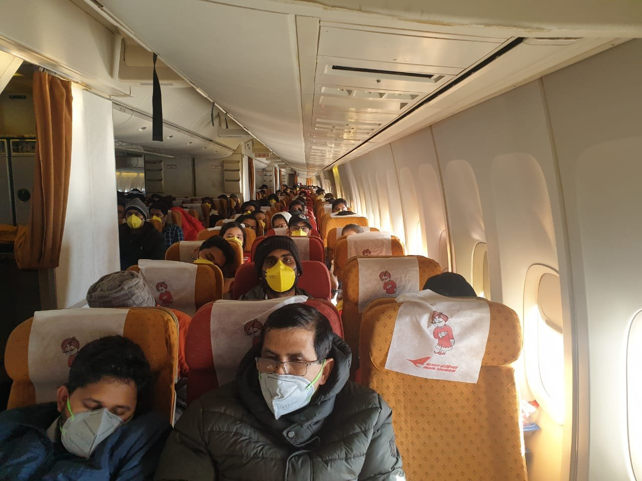 Scheduled international passenger flights have been suspended in India since March 25 due to the coronavirus pandemic.