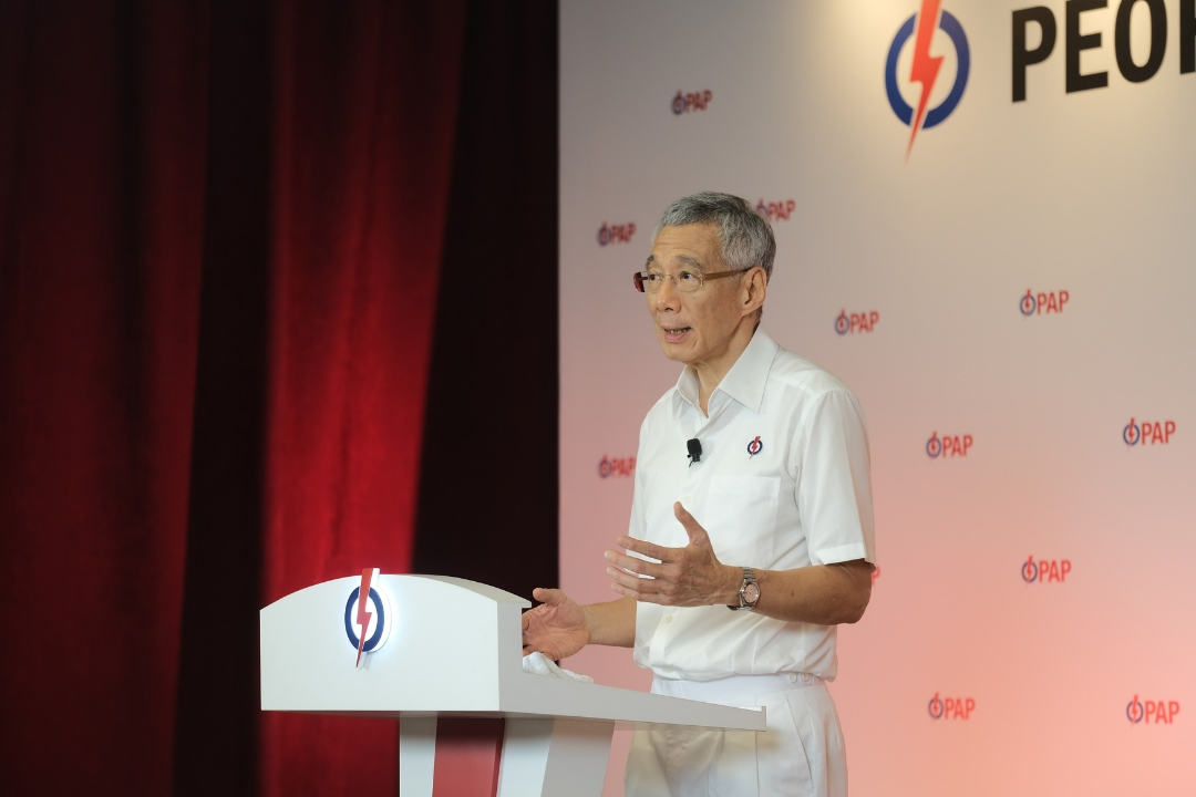 PM Lee stated that while there were no new Indian candidates this year, there are