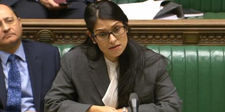 "UK Home Secretary Priti Patel described the allegations as ""truly appalling"" and commended the undercover investigation"