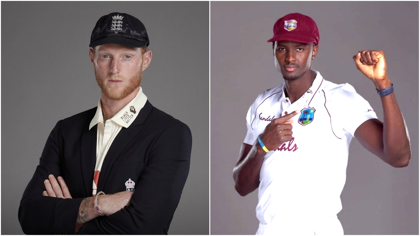 Photos courtesy: Twitter/@englandcricket and Twitter/@windiescricket