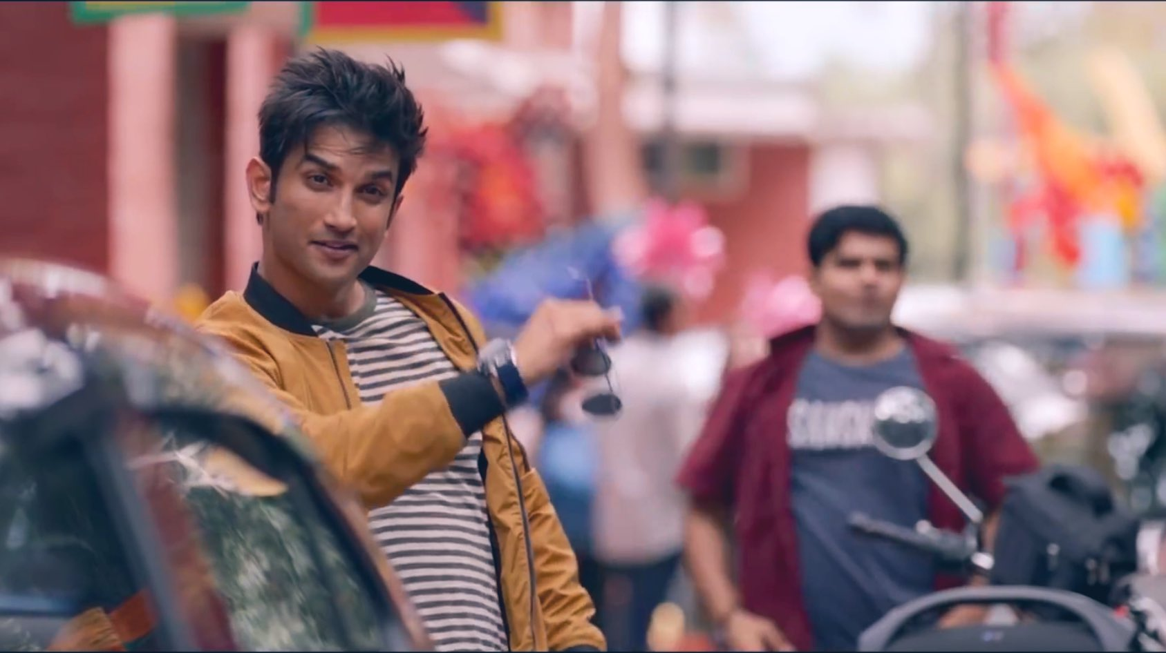 The late actor Sushant Singh Rajput in his last movie Dil Bechara. Screengrab from trailer.