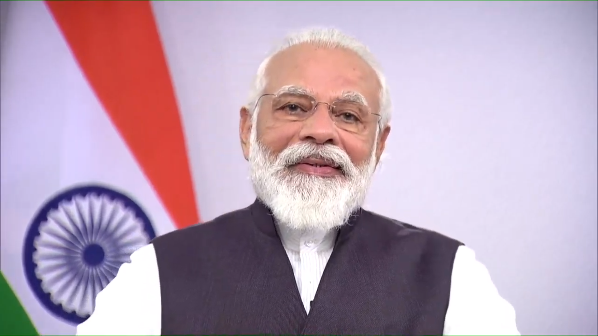 the PM said India has a history of overcoming social and economic challenges and said the nation was looking to recover from the COVID-19 crisis.