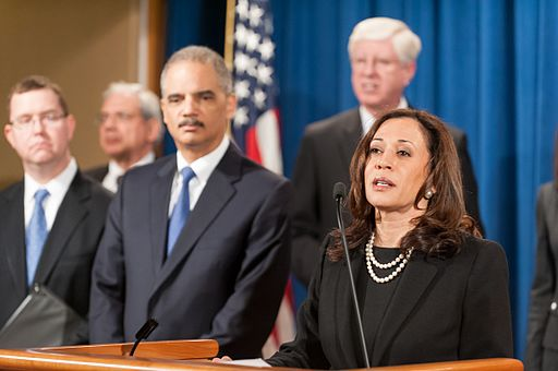 Kamala Harris, an Indian-American woman is a top contender to be the Democratic nominee for Vice President. Photo courtesy: Wikimedia