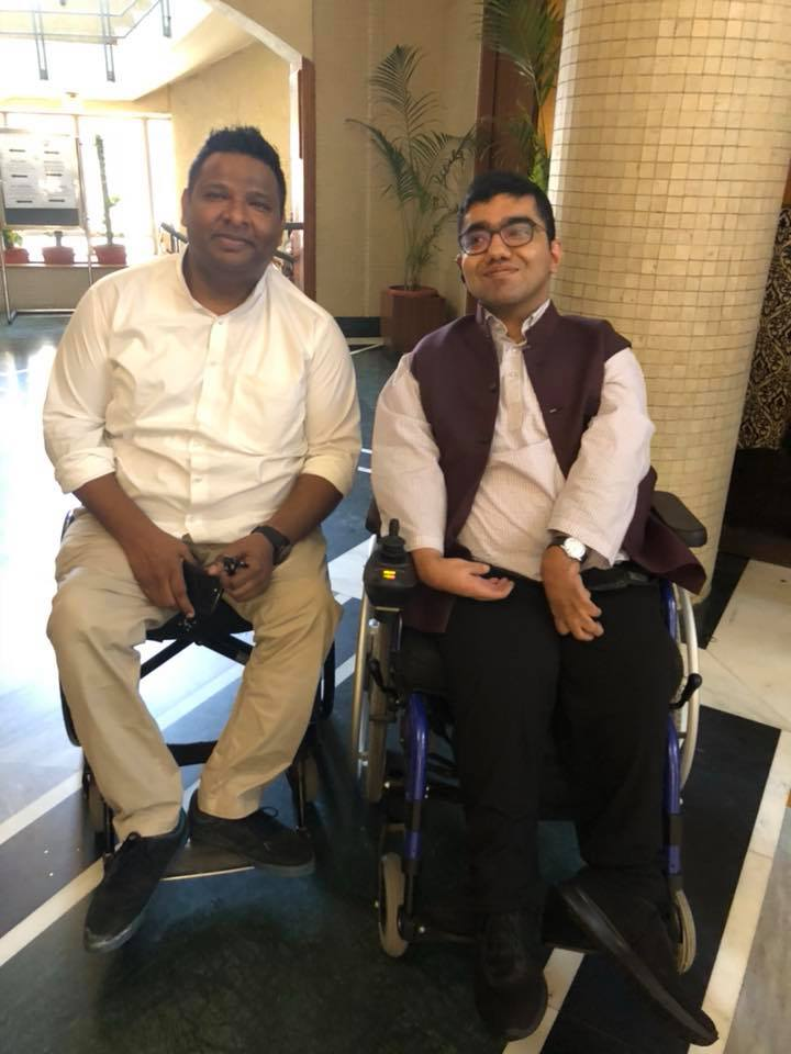 Ali, presently the executive director of the National Centre for Promotion of Employment for Disabled People in New Delhi, is also on the board of NGO Shishu Sarothi in Guwahati.