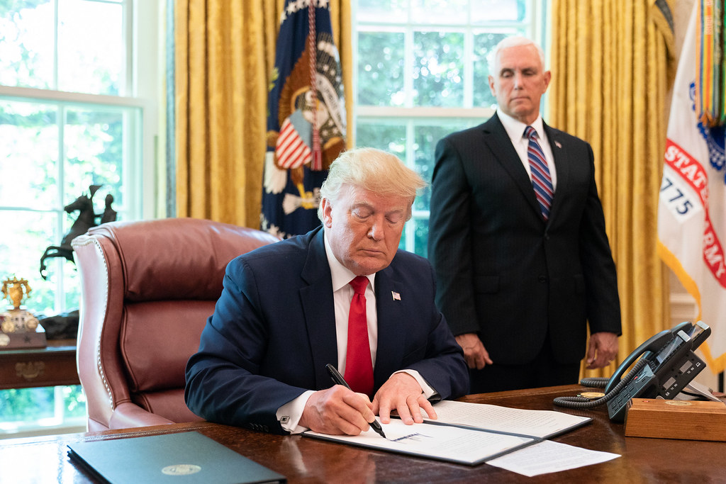 Although Trump announced his decision to withdraw from the historic pact on June 1, 2017, the process began last year with the formal notification and the US will be out of the pact on November 4, 2020.