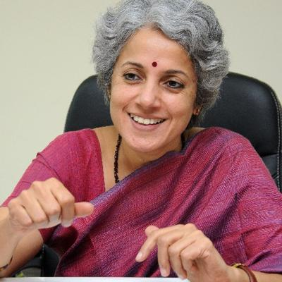 WHO Chief Scientist Dr Soumya Swaminathan. Photo courtesy: Twitter/@doctorsoumya