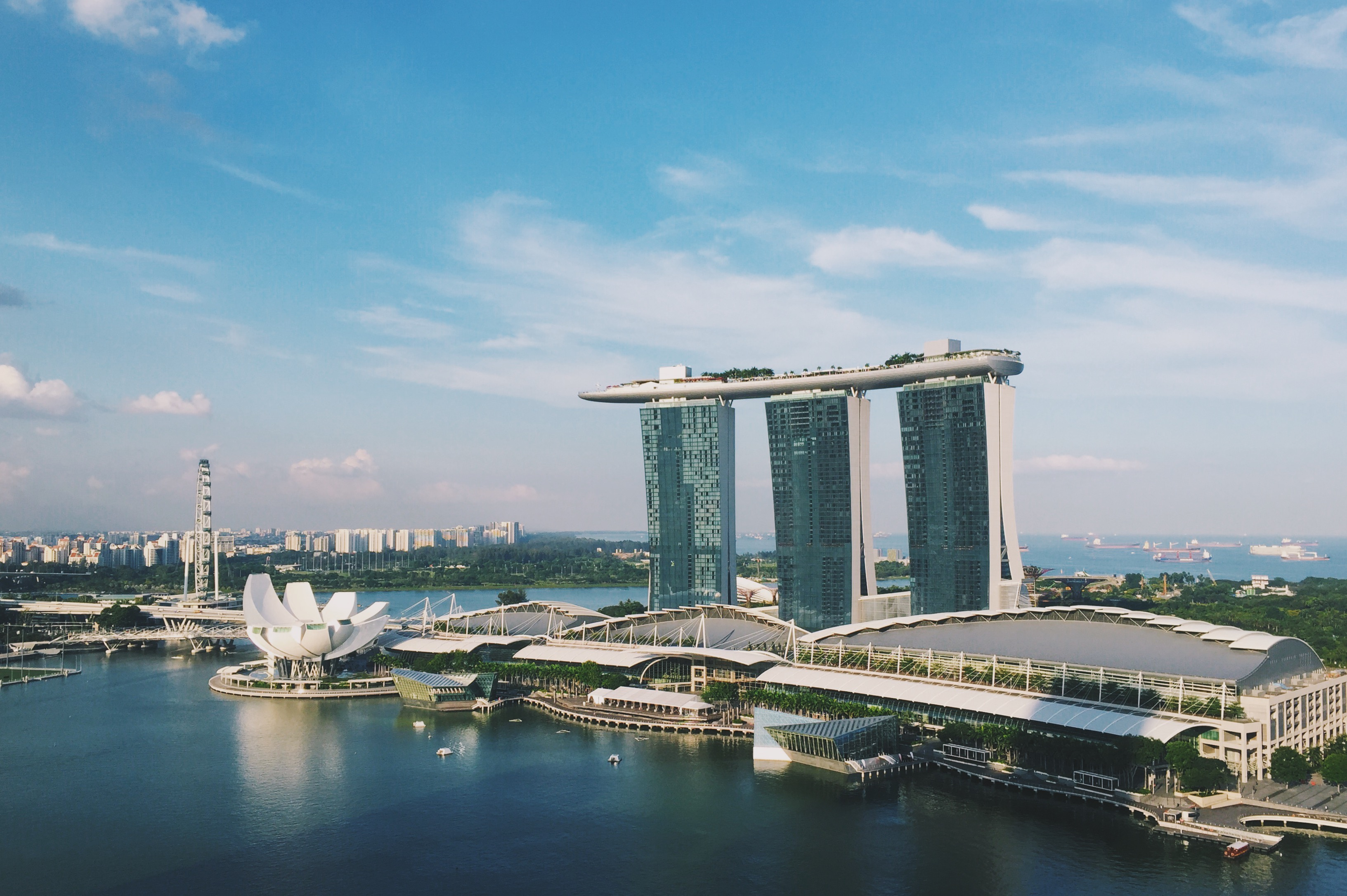 Singapore's economy could shrink between 5 to 7 per cent in 2020. Photo: Connected to India