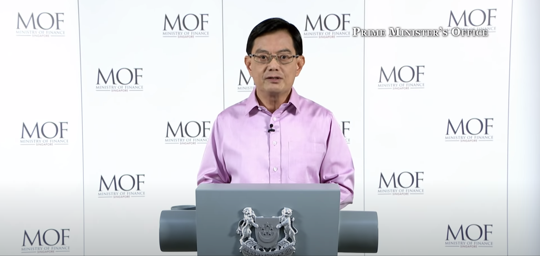 Minister for Finance Heng Swee Keat. Photo courtesy: MOF
