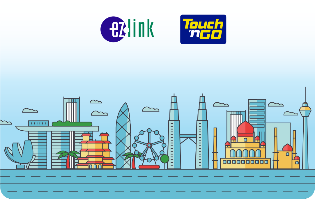 The EZ-Link x Touch 'n Go Motoring Card securely hosts two electronic purses – the EZ-Link purse in Singapore Dollars, and the Touch 'n Go purse in Malaysian Ringgit. Photo courtesy: EZ Link