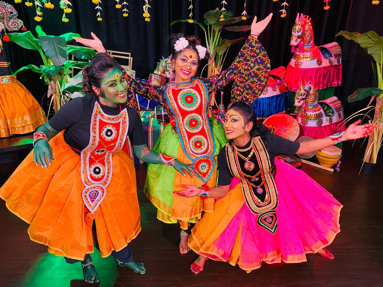 Surpanagai Koothu presented by AKT Productions at Culture Fest 2020.  Photo Courtesy: IHC