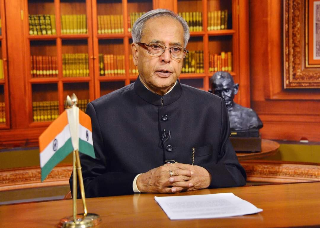 Mukherjee, the 13th President of India (2012-2017), has been one of the nation's most prominent statesmen during a political career spanning five decades. Photo courtesy: Wikimedia/IANS