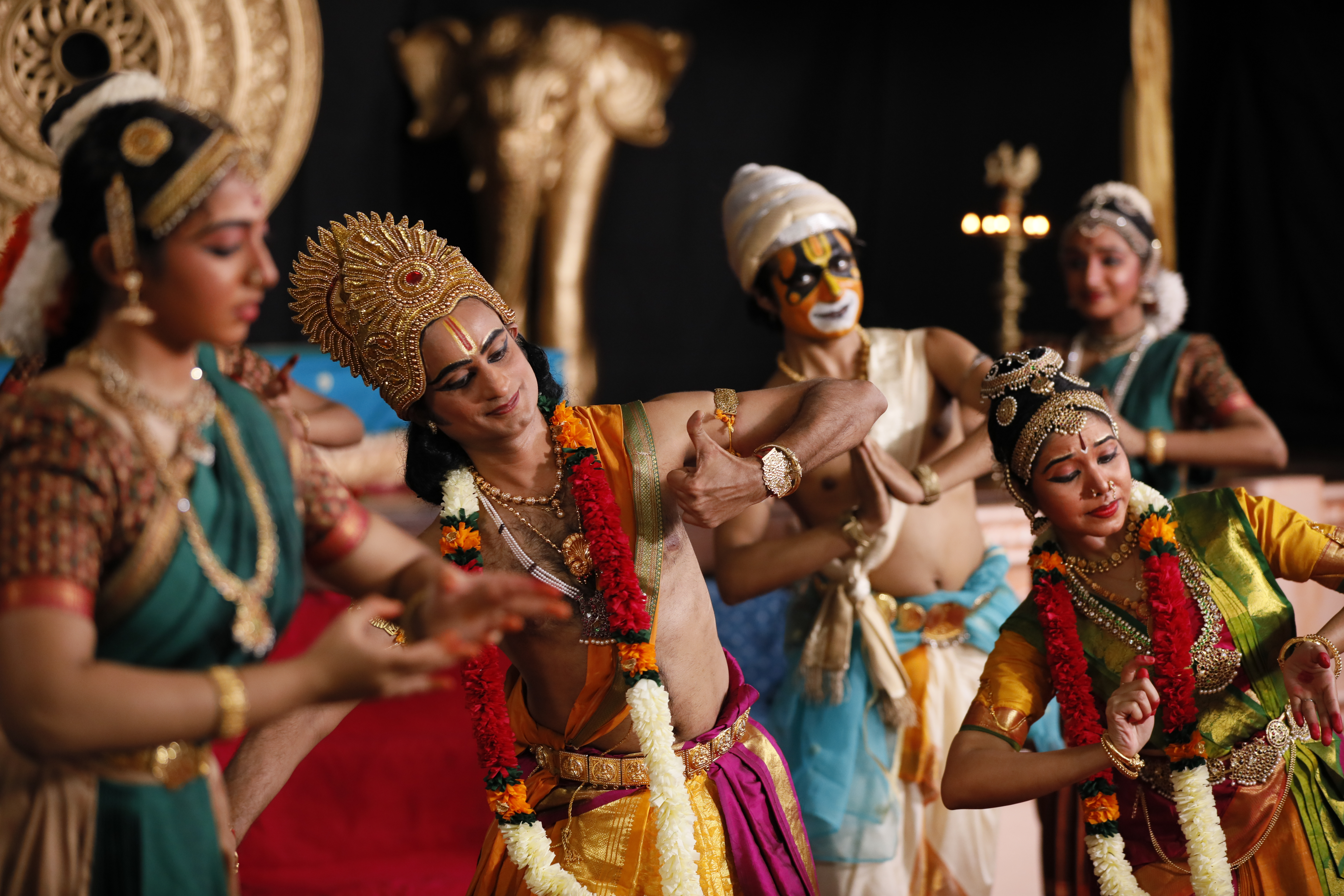 SIFAS Classical Dance on Rama's Coronation or Ramar Pattabhishekam. Photo Courtesy: IHC