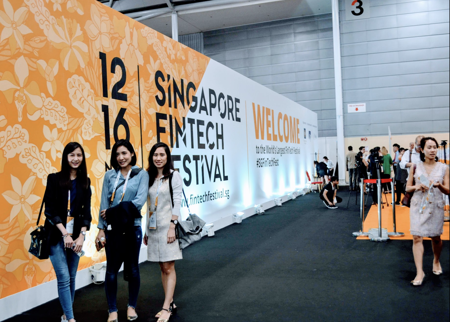 Attendees at Singapore Fintech Festival 2018. Photo: Connected to India