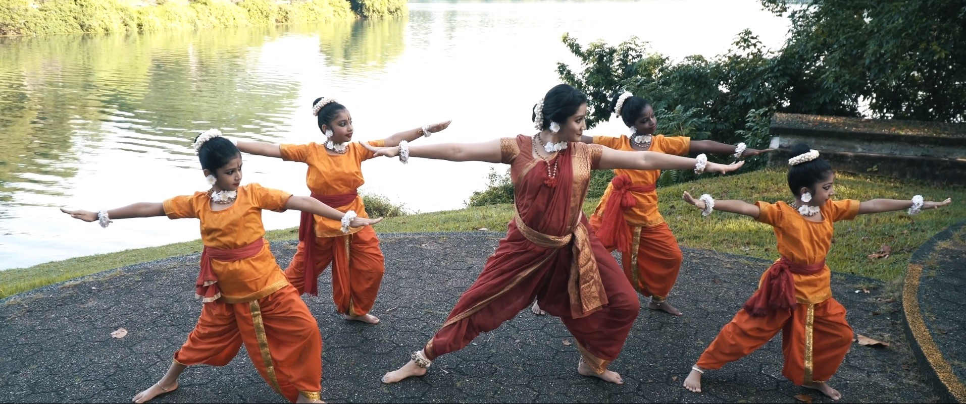 Ramayana Retold: Warriors in the making by Gayathri Dance Academy. Photo Courtesy: IHC
