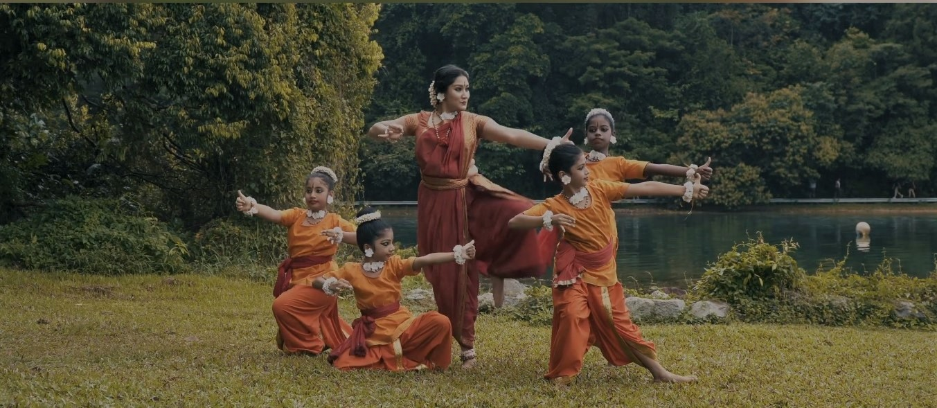 Rama and his brothers as warriors in making in a dance-yoga fusion. Photo Courtesy: IHC