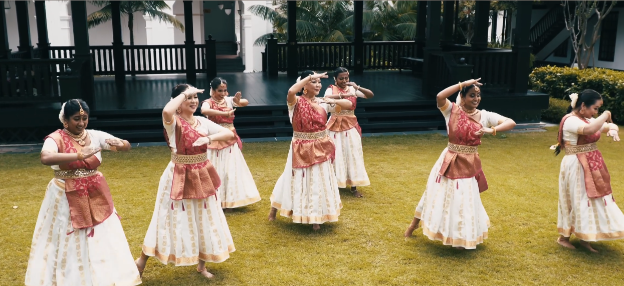 The multi-cultural ethnic group from the uniquely multi-racial Singapore danced to a Bollywood number. Photo Courtesy: IHC