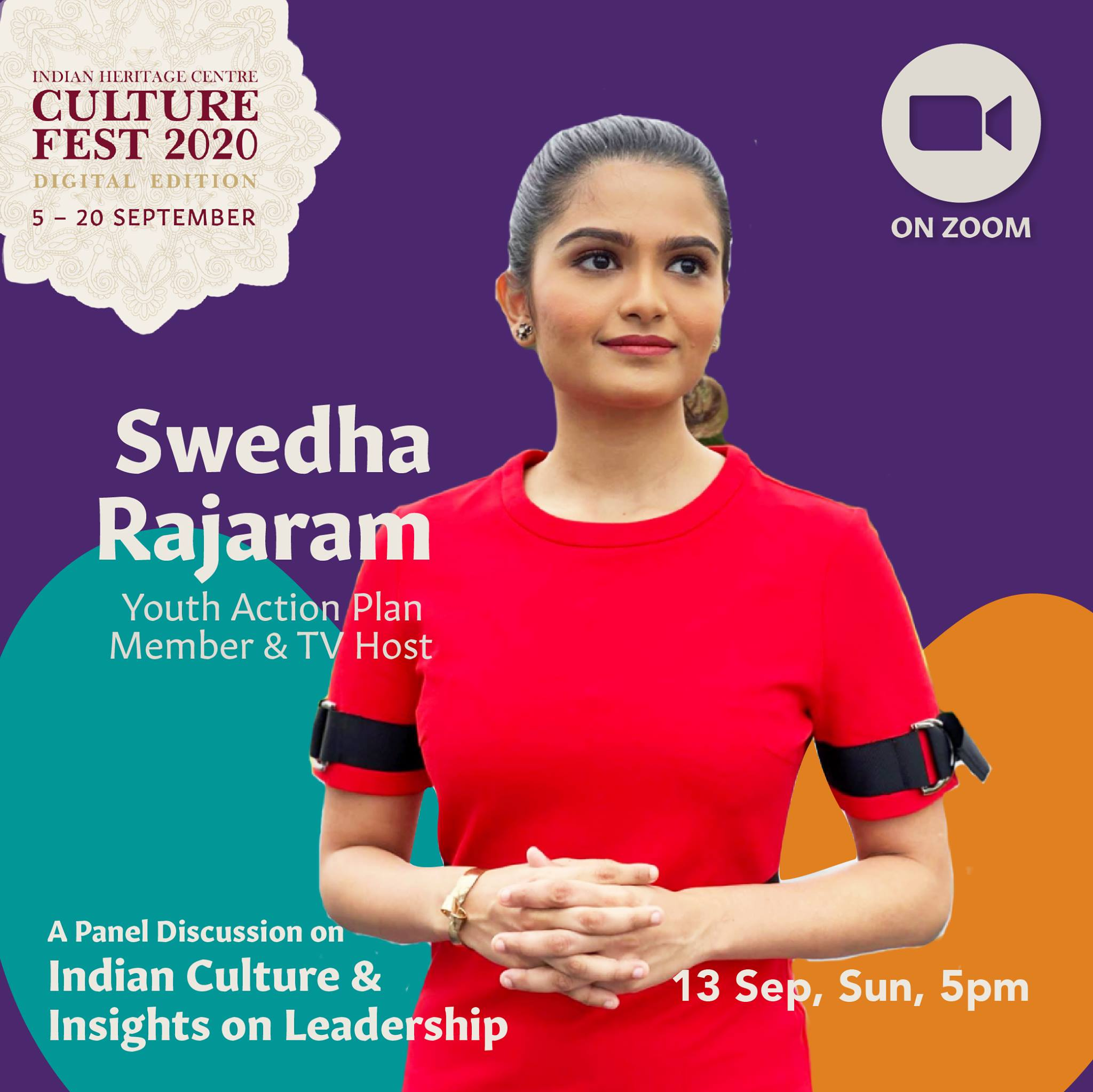 Swedha Rajaram - youngest member of SG Youth Action Panel, Chief Network Officer of Advisory Singapore and member of mental health collective Your Head Lah!. Photo Courtesy: IHC