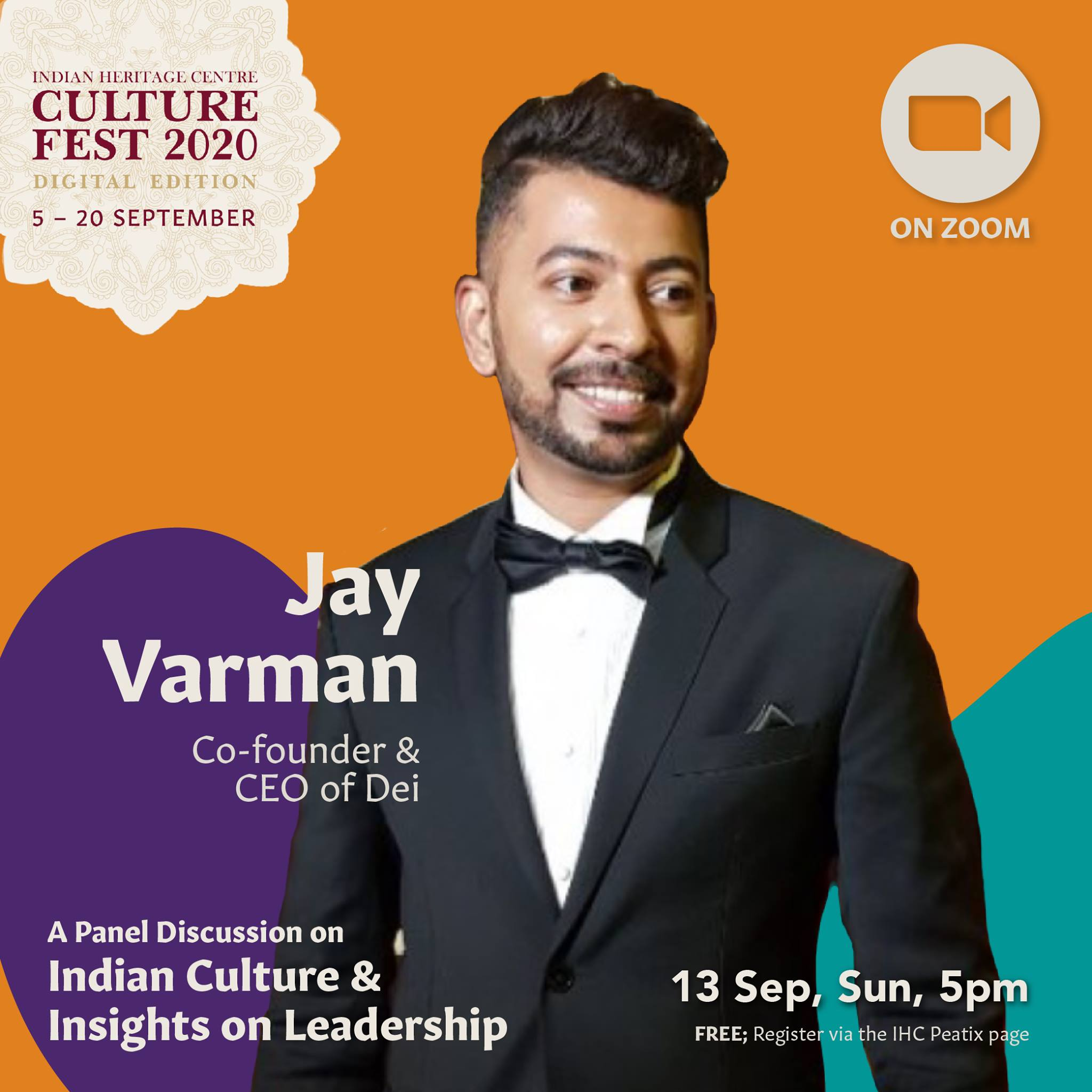 Jayavarman Gnanasekaran - is the CEO of Dei Holdings which he founded and recipient of Young Entrepreneur Award 2019 at the SICCI Awards. Photo Courtesy: IHC