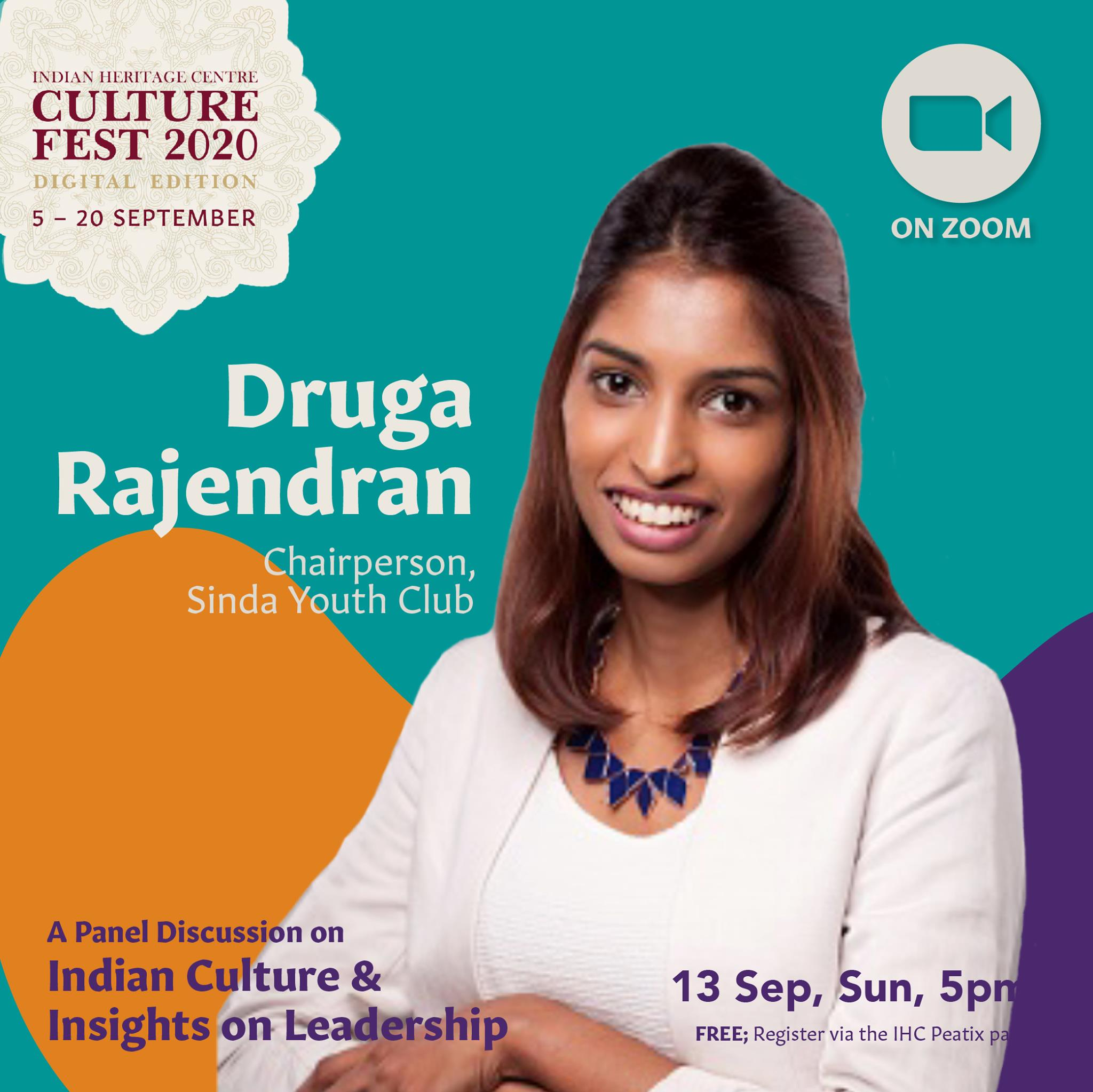 Druga Rajendran - is a full time youth volunteer & the youngest chairperson of the SINDA Youth Club. Photo Courtesy: IHC