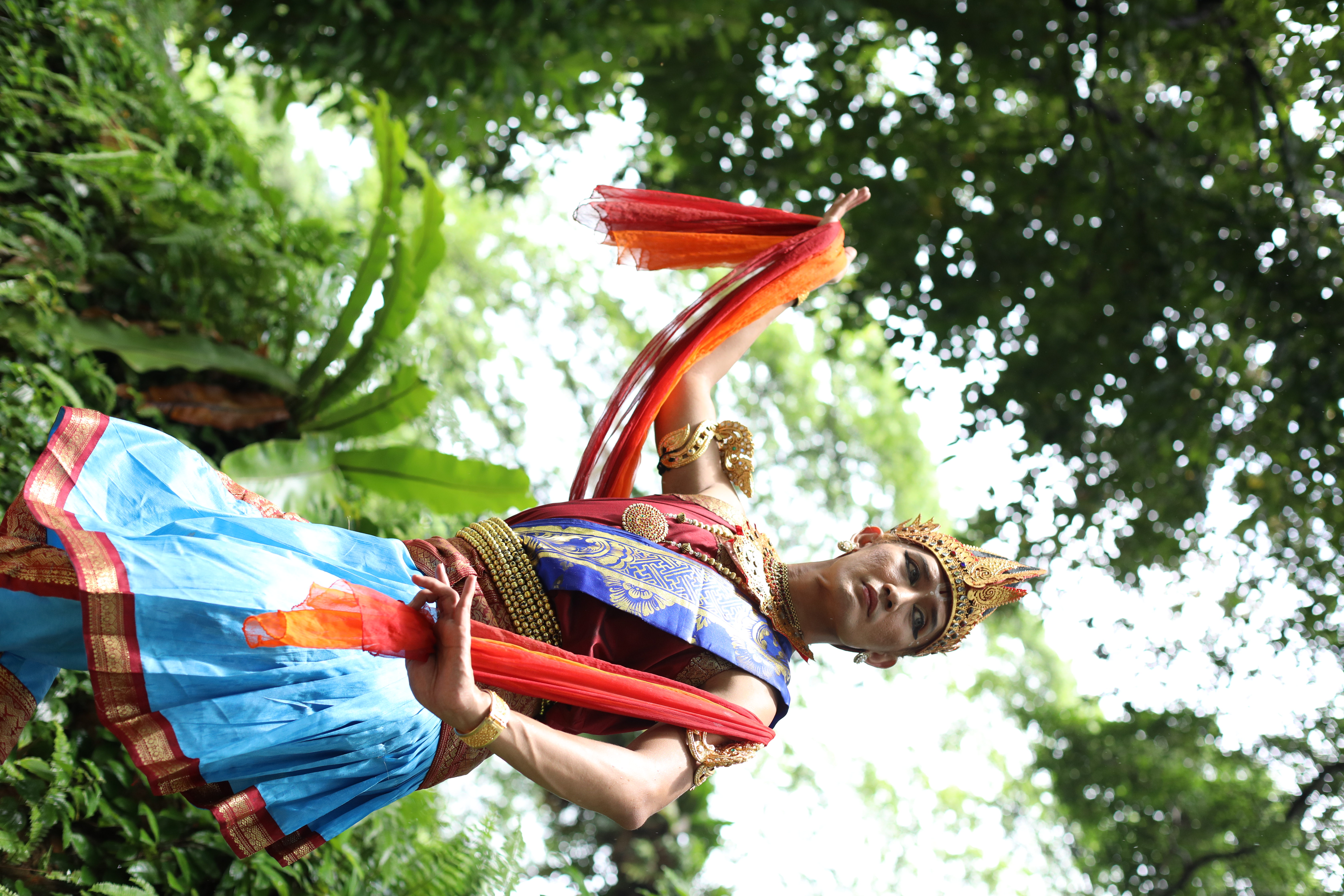 Shahrin Johry as Rama. Photo Courtesy: MDT