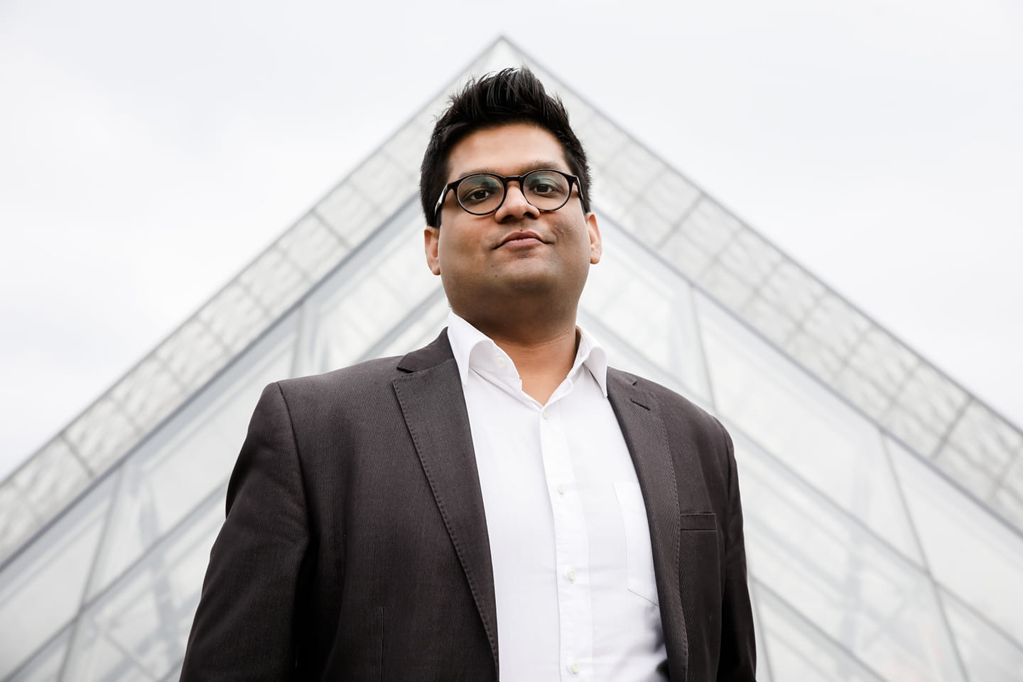 SmartClean was founded by Lav Agarwal (photo above) a PhD from NTU, with Abhishek Mishra (PhD from NUS), and Stella Aw(co-founder of Spotless). Photo Courtesy: SmartClean Technologies