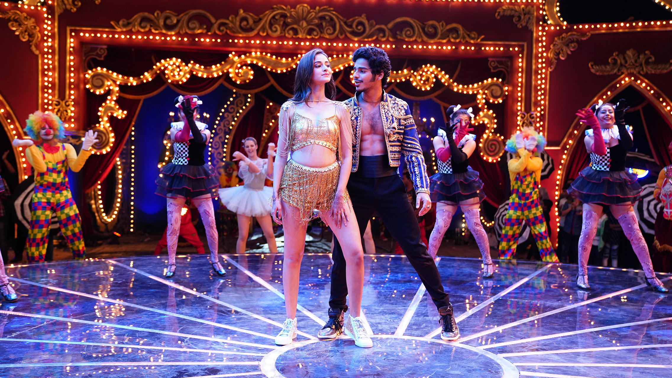 The songs are by Vishal Shekhar and Ishaan does his best with the choreography. Photo Courtesy: Zee Studios
