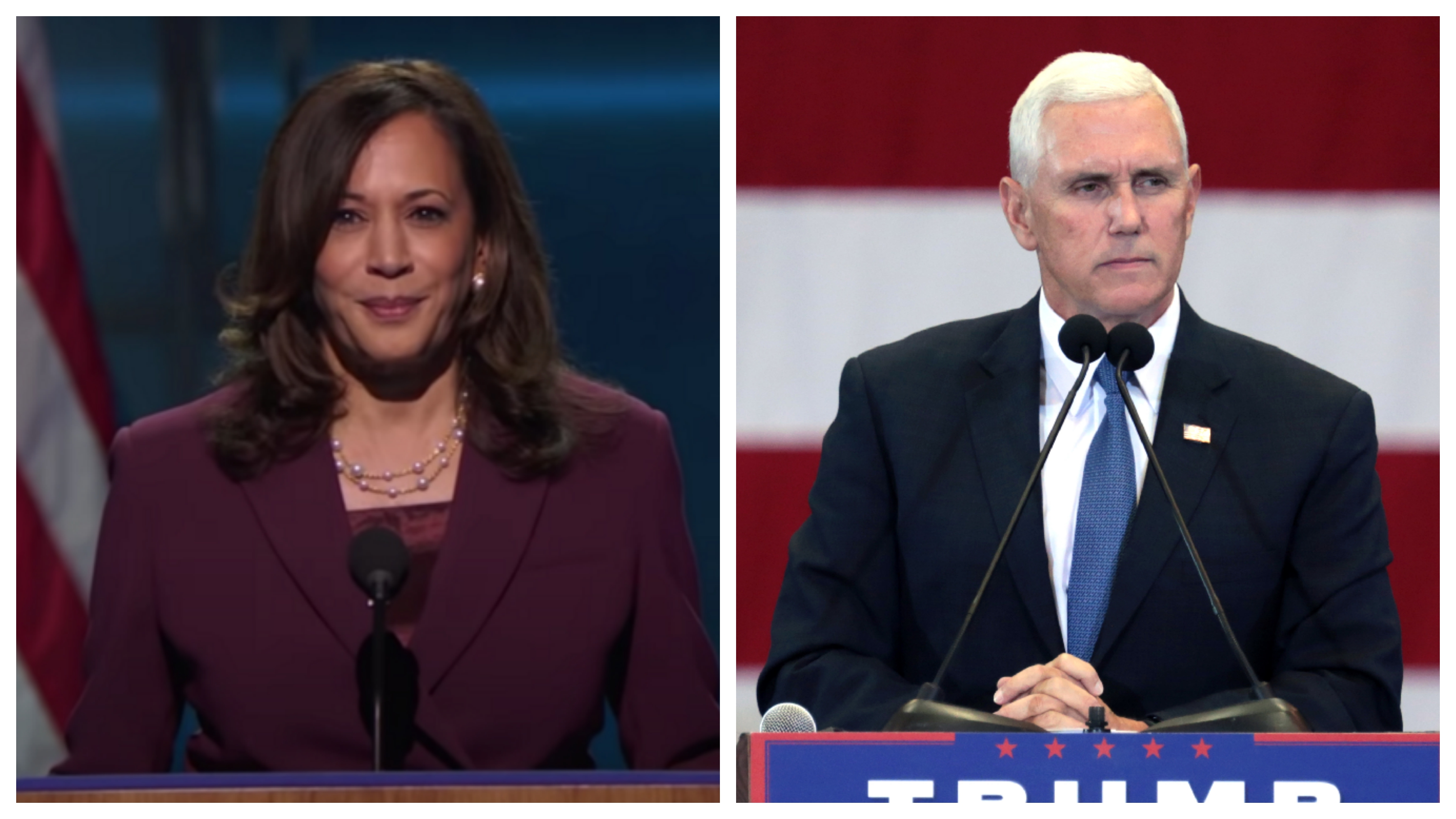 the Pence-Harris debate will be divided into nine segments of about 10 minutes each.