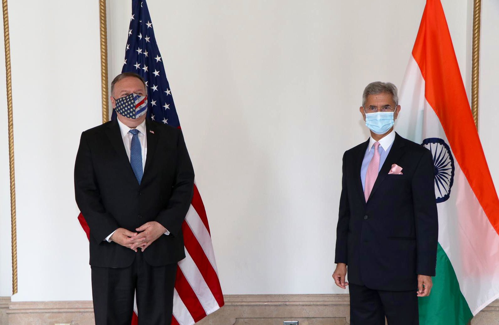 Indian External Affairs Minister S Jaishankar met United States Secretary of State Mike Pompeo