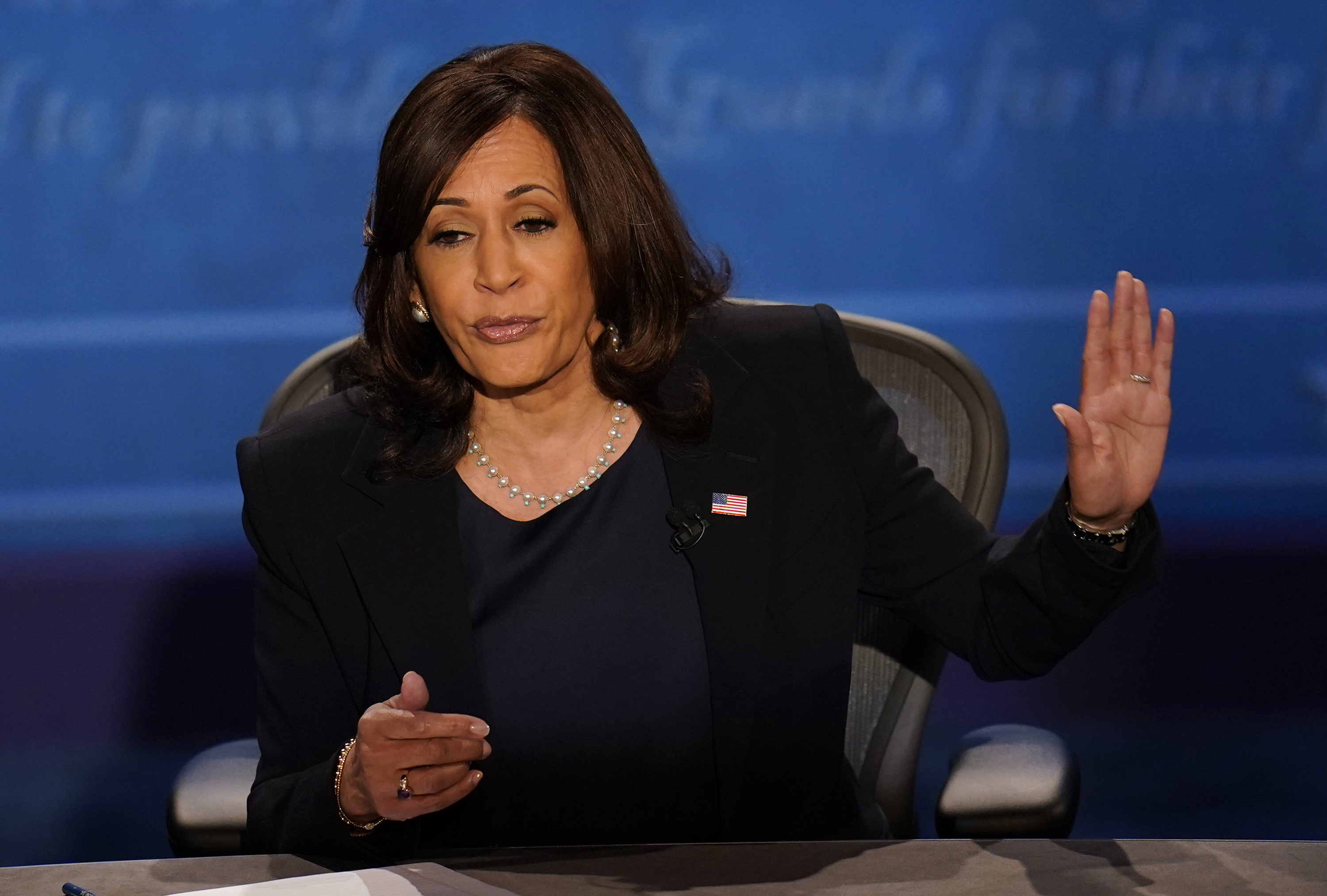 Surprisingly, Harris did not bring up the current state of the White House, where 11 staffers and the President and First Lady have all tested positive for the coronavirus.