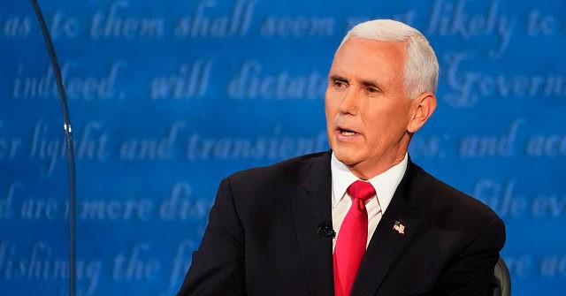 Pence consistently stated that the Biden-Harris ticket was offering nothing new to the American people. Photo courtesy: C-SPAN