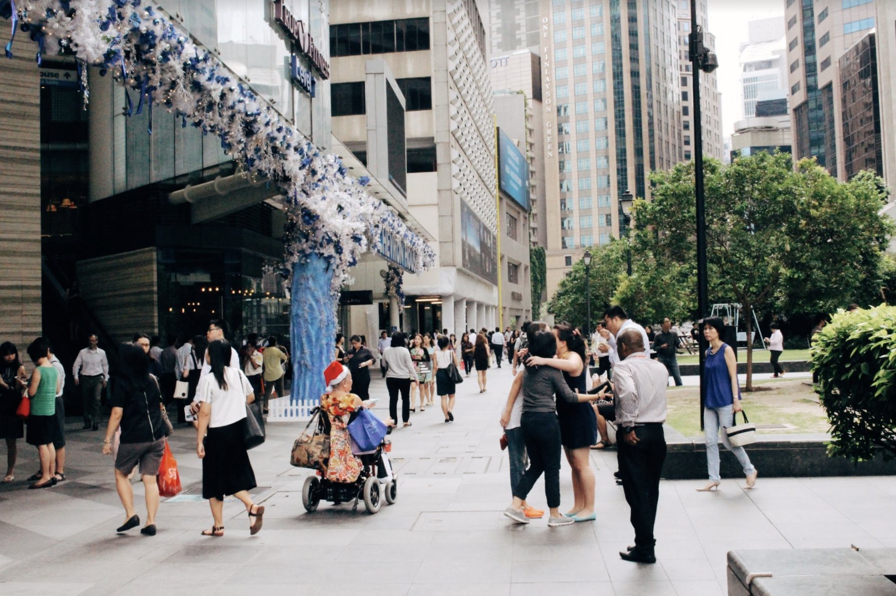 A survey by REACH found that 49 per cent of respondents were neutral about foreigners in Singapore. Photo: Connected to India