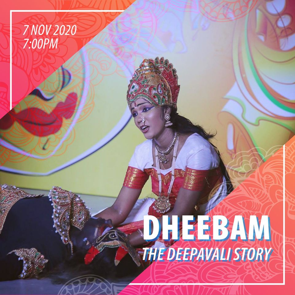 Colourful drama, Dheebam, a live retelling of the Deepavali Story performed in English is going virtual this year. Photo Courtesy: LISHA/FB