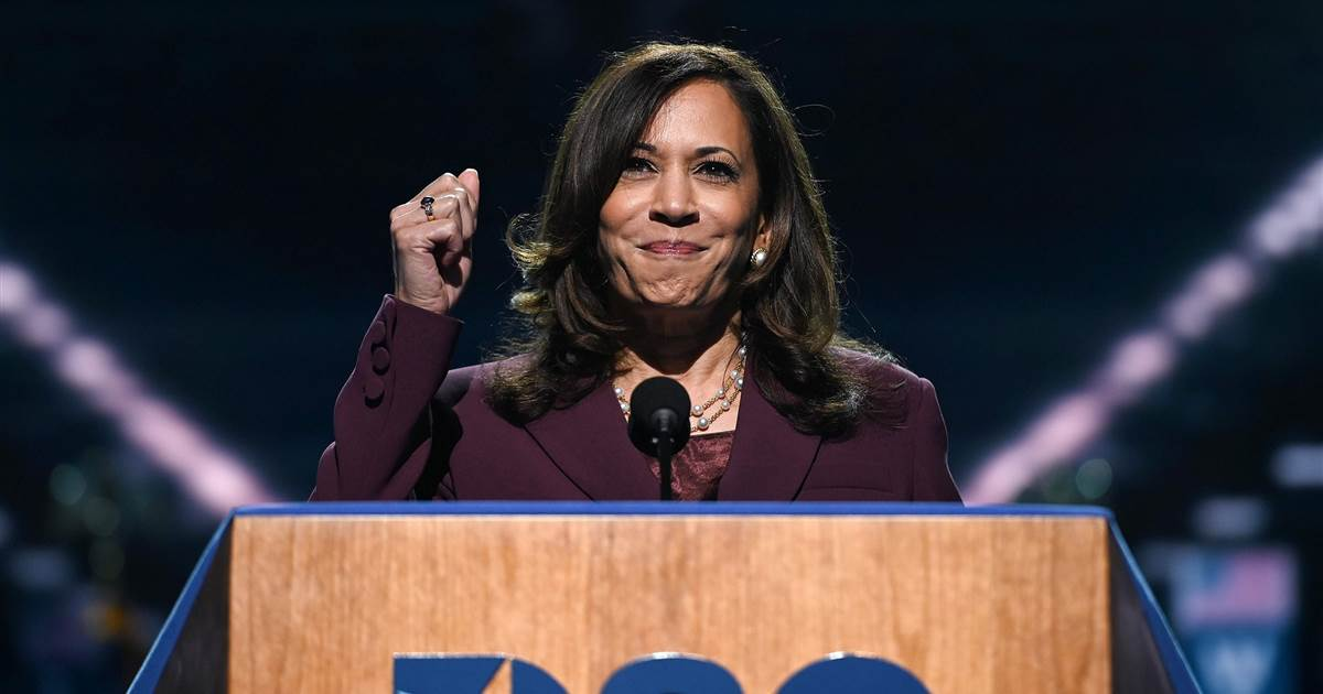 Harris, a former prosecutor and state attorney general, earned high marks from Democrats for her aggressive questioning of Trump's second nominee Justice Brett Kavanaugh in 2018.