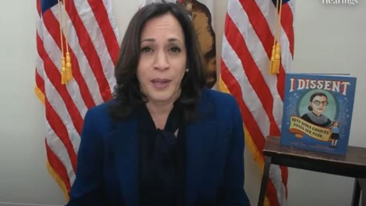 Harris focused most of her remarks on GOP attempts to roll back the Affordable Care Act, and said Republicans