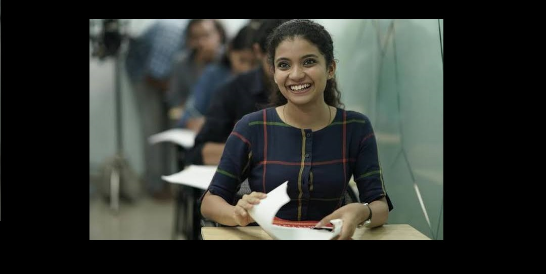 Anna Ben received special jury mention for her role in the movie Helen. Phtoto Courtesy: Twitter
