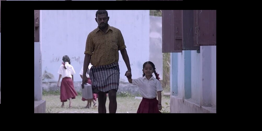 Vinayakan plays the titular character of Sarah's godfather, Thottappan, in this gritty movie thats captivating. Photo Courtesy: Twitter