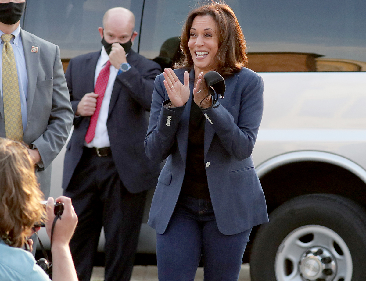 Harris has conducted two PCR tests since then, both negative, the Democratic campaign said