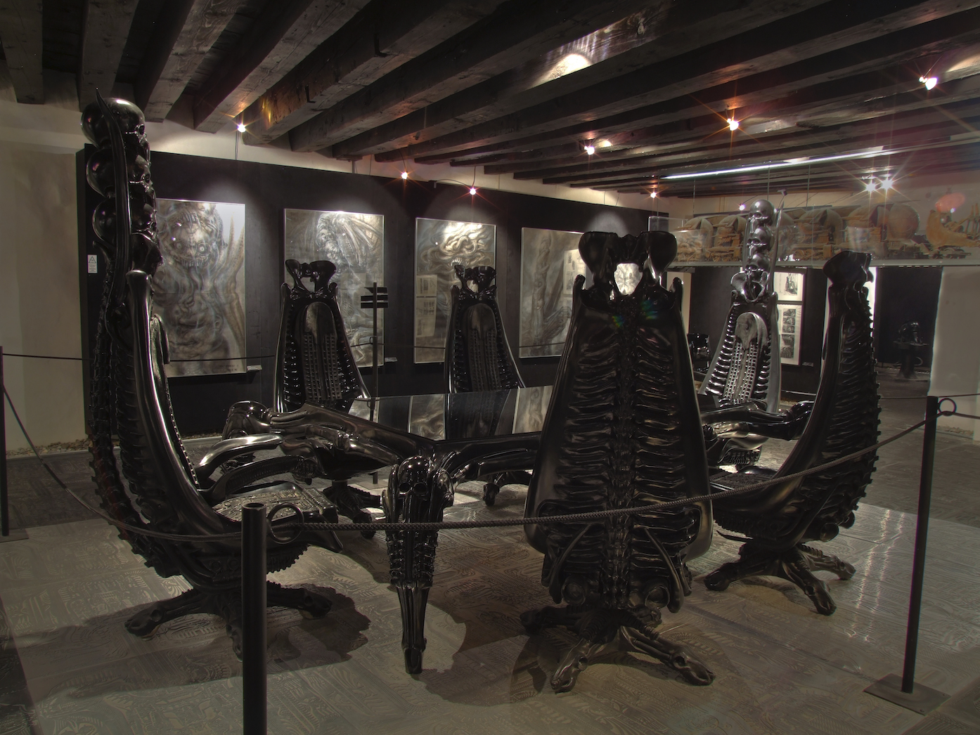 HR Giger Museum, Gruyères