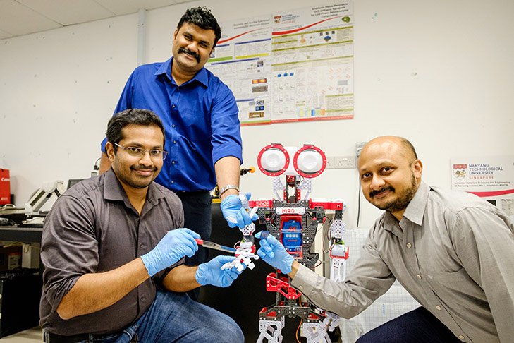 NTU scientists have developed a system of