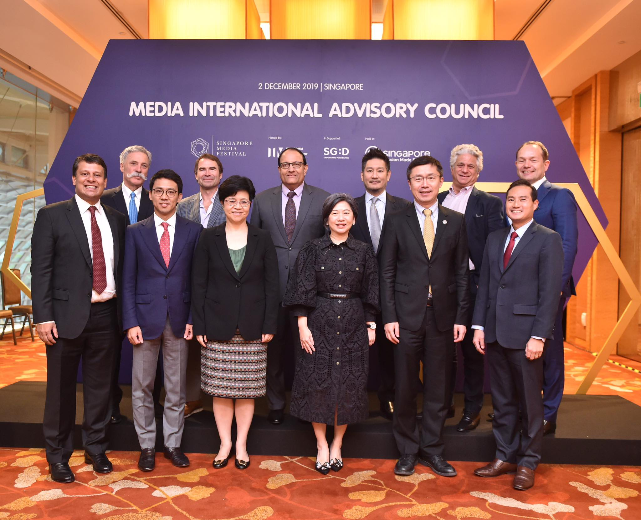 The launch of Media International Advisory Council (IAC), chaired by Minister S Iswaran, in 2019. Photo courtesy: SMF