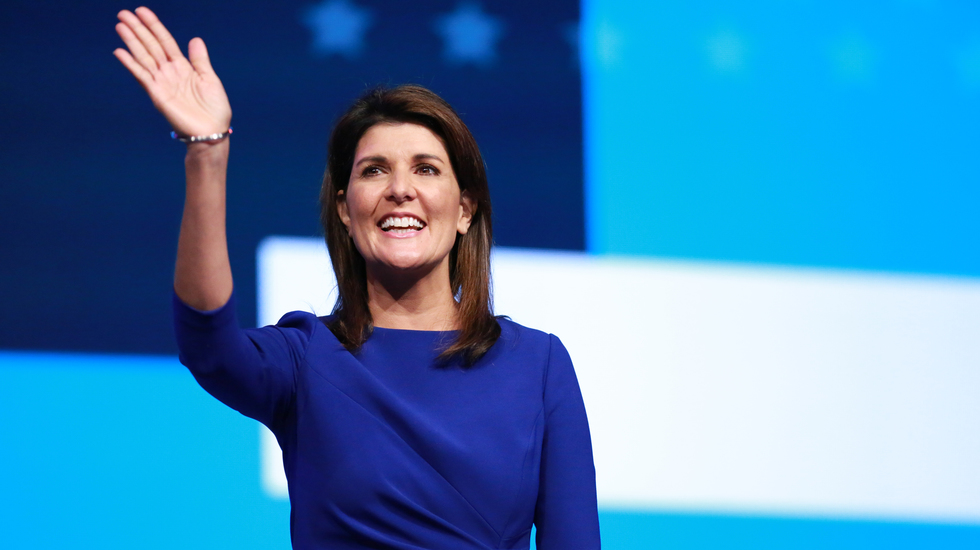 Haley, the two-term governor of South Carolina, was the first Cabinet-ranking Indian-American in any presidential administration. She is now campaigning for Trump ahead of the US election.