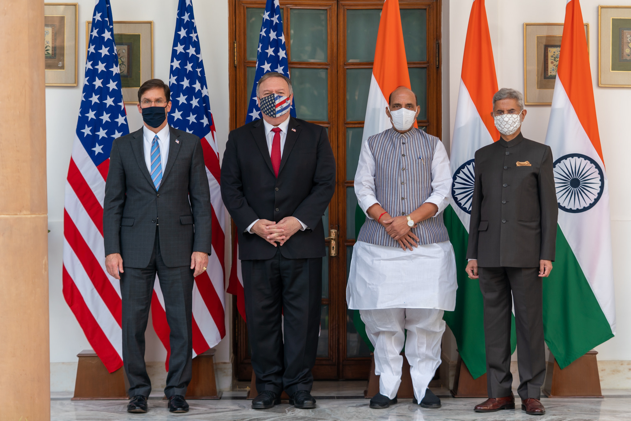 The growing strategic convergence between India and the US also saw the two sides finally inking the landmark Basic Exchange and Cooperation Agreement (BECA)